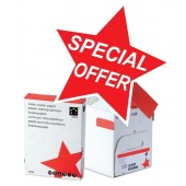 5 Star Value Copier Paper Ream-Wrapped FSC 80gsm A4 White [5 x 500 Sheets]