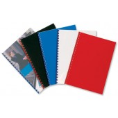GBC Poly Covers Red IB387289