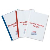 &GBC Thermal Covers 6mm Red IB451232