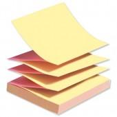Post-It Z Note Neon Pink/Ylw R33On Pk6