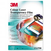 3M Colour Laser Print Film Cg3700 Pk50