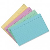 Concord Rec Cards 127x76 Ass Pk100 16099