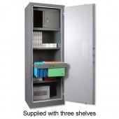 3*SecureDIN1 Archive Cab SL00300
