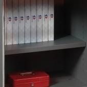 3*SecureDIN2 Shelf