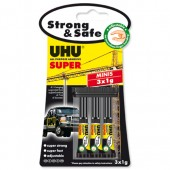 &UHU All Purpose Glue Minis 3X1g 4220