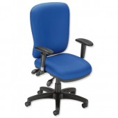 #Influx Vit  Maxi Async Task Chair Blue