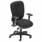 #Influx Vit  Maxi Async Task Chair Black