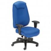 #Influx Vit  Exec Sync Task Chair Blue