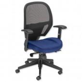 #Influx Amaze Sync Mesh Chair Blue