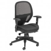#Influx Amaze Sync Mesh Chair Black