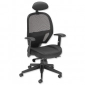 #Influx Amaze Sync HR Mesh Chair Black