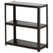 InfluxLD Bltls 3 Shelf Unit Blk