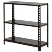 InfluxProP Bltls 3 Shelf Unit Blk