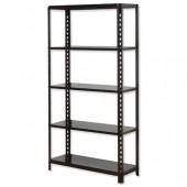 InfluxProP Bltls 5 Shelf Unit Blk