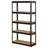 InfluxMD Bltls 5 Shelf Frm Unit Blk