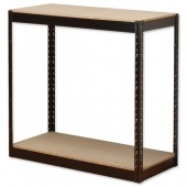 InfluxHD Bltls 2 Shelf Frm Unit Blk