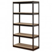 InfluxHD Bltls 5 Shelf Frm Unit Blk