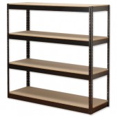 InfluxHD Bltls 4 Shelf Arcv Frm Unit Blk