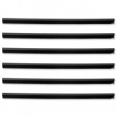 Durable Spine Bar 6mm Black Pk50 2931/01