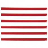 Durable Spine Bar 6mm Red Pk50 2931/03
