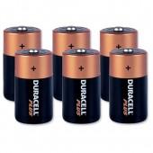Duracell Plus Power Battery Size D Pk6