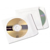 Tyvek CD Sleeve Clear Window Pk25 810253