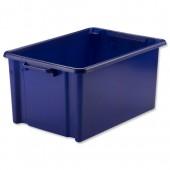 Jumbo Storemaster Crate Blue Hw48