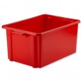 Jumbo Storemaster Crate Red Hw48