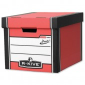 R-Kive Premi Presto Tall Red Storage Box