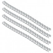 GBC Wire21 Rng 6mm Blk Ib165023 Pk100
