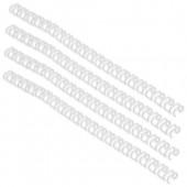 GBC Wire 21Rng 6mm Wte Ib165085 Pk100