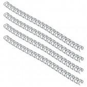 GBC Wire 21 Rng 8mm Blk 165122U Pk100