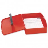 5 Star Premier Polyprop Box File Red