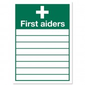 First Aiders 355x255mm KS007SAV