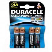 Duracell UltraPwr MX1500 AA Pk4 81235491