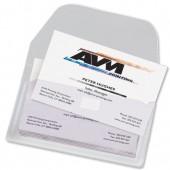3L Business Card Pkt&Flap Pk10 6825-10