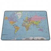 Durable World Map DeskMat 7211/19