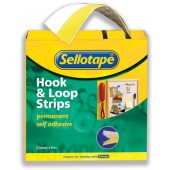 Sellotape Hook&Loop 20mmx6M Strip1445180
