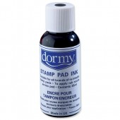 Dormy Stamp Pad Ink 28Ml Black Pk10