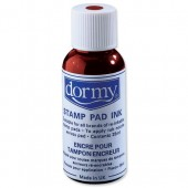 Dormy Stamp Pad Ink 28Ml Red Pk10