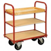 RelX 3 shelf trolley TC1141