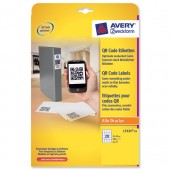 Avery Blockout Prd Label Square L7121-25