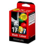 Lexmark No17&27 InkCart Blk&Col 80D2952
