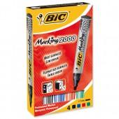 Bic Perm Mkr Bullet Asstd Pk4 820911