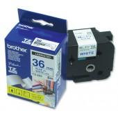 &BrotherPtouch TZ8mtpe36mm Blu/Wht TZ263