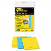 Post-it SStky Label Pad Pk75 2900-BYEU