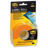 Post-it SStky Remb LabelRoll Org 2600OEU