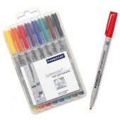 Staedtler Lumocolor Medium 315 Wp8 Pk8