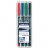 Staedtler Lumocolor Medium 317 Wp4 Pk4