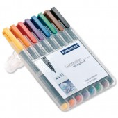 Staedtler Lumocolor Medium 317 Wp8 Pk8